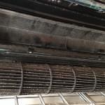 エアコン丸ごと完全分解クリーニング【東芝 2011年製 フィルター自動お掃除機能付きエアコン RAS-281JR(W)】