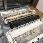 エアコン完全分解クリーニング~オーバーホールクリーニング(シャープAY-B56SX-W)